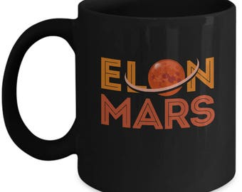 Elon Mars Mug - Gift
