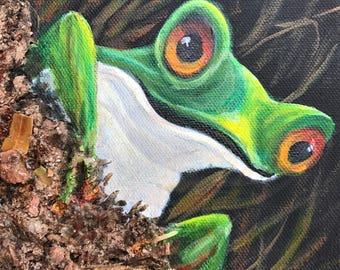Frog ll print