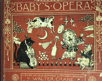 Vintage The Baby's Opera  by Walter Crane