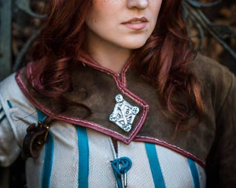 Triss Merigold (Witcher 2: Assassins of Kings) Print by Skunk and Weasel