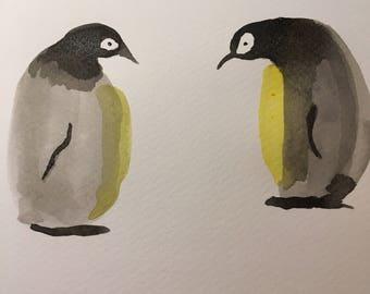 Original watercolour painting for Laura Way