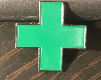 Dispensary Cross Pin
