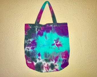 Hand-made Tie Dye Galaxy Tote