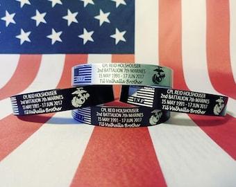 CPL Holshouser Memorial Bracelet