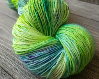 Lily Pity Pad hand dyed yarn