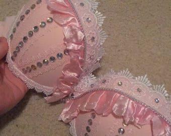 Rave Bra: Lolita Pink 14C