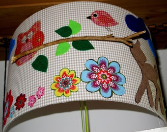 Lamp shade Waldtierchen