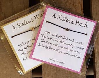 Sister Wish Bracelet