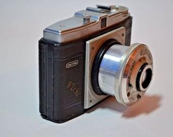 Dacora Digna vintage medium format 120 film camera w/Achromat Digna 80mm 1954