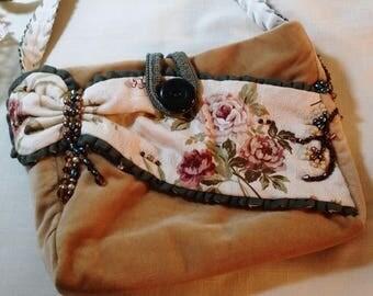 Velvet purse