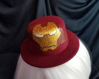Iron Man Mini Top Hat