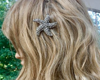 Starfish Comb, Summer Wedding, Summer Bride, Beach Jewelry, Beach Party, Summer Party, Summer Jewelry, Beach Wedding Destination Wedding