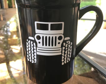 Jeep inspired coffee Mug