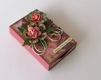 Gift card box/Gift card holder/message box/Ring box/Small jewelry box