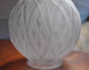Art Deco Glass Ball Shade