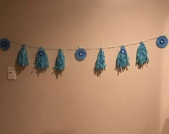 Tassels and Doilies Garland