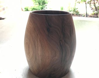 Black Walnut Vase