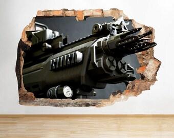 Gun Barrel Decal Etsy - Custom gun barrel stickersgun decals shotgun barrel sticker shooting ammo decal