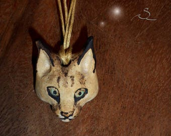 Caracal necklace