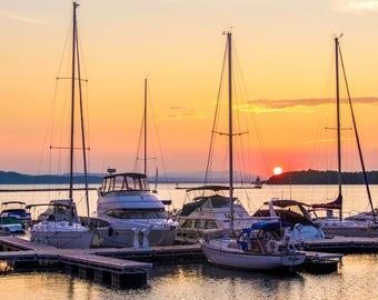 Lake Champlain, VT Photo in Matte