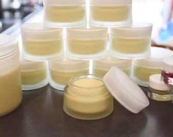 Shea butter: Pure 100% unrefined.