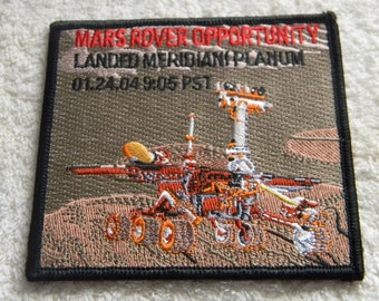 Nasa Patch...Mars Rover Opportunity