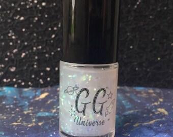 Nebula - Clear Nail Polish with Iridescent Flakies