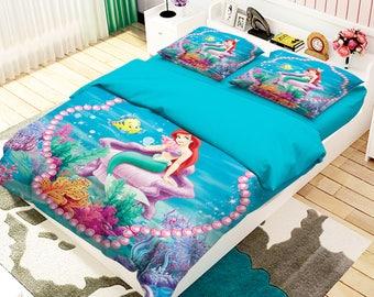 Little Mermaid King Size Bedding