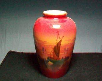 Vintage Royal Staffordshire Burslem Vase