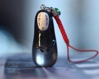 Spirited Away No-Face Model Figure Doll key chain