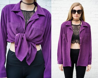 Vintage Plum Purple Penman's Shirt or Jacket.