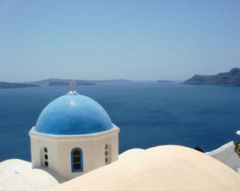 Sea View - Greece - Instant Download