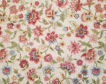 Foral Flannel Fabric