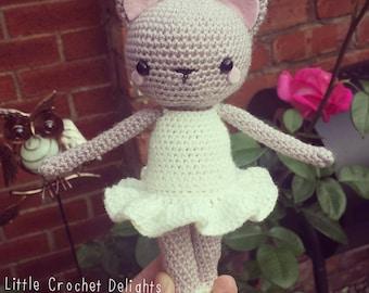 Amigurumi Ballerina Kitty