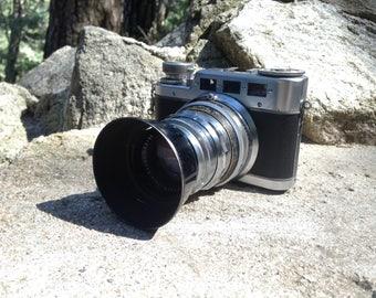 W.Voss Ulm/d Diax IIa Vintage Rangefinder Camera