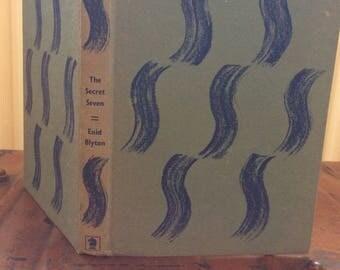 Vintage book The secret Seven by Enid Blyton 1963