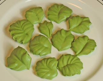 Green violet leafs ( by 50 pc.)