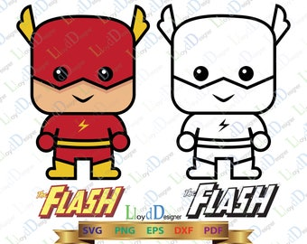 Flash Svg Eps Png Dxf the flash superhero svg flash clipart flash ornament flash party flash dxf flash birthday flash print cut file cricut