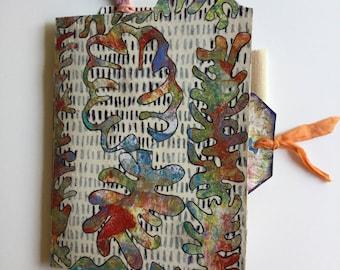 Handmade journal for writing, sketching, painting, secret keeping!