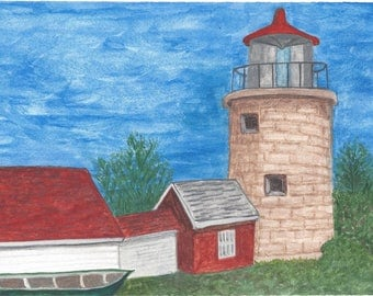 Monhegan Island Lighthouse