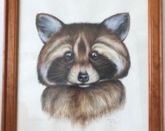 Order for Sammy - Raccoon & Tiger