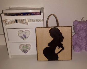 Pregnant woman ornament