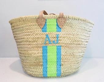 Monogrammed Baskets