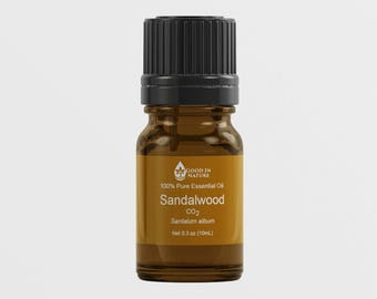 Sandalwood Essential Oil CO2 100% Pure  Undiluted Natural Aromatherapy Therapeutic