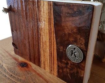 A6 Handcrafted Veneer Journal