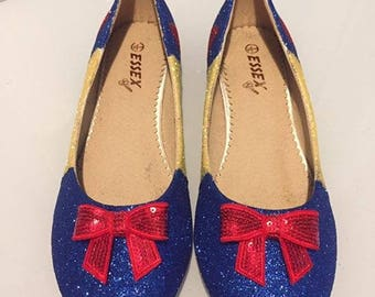 Snow White-flats-wedding-prom-shoes