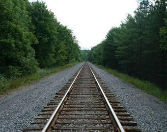 Railroad Tracks Print