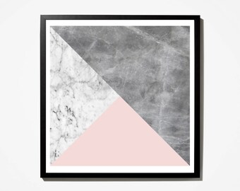 marble, Geometric Art, marble Print, Printable, Pink