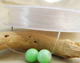 spool thread transparent elastic 0.80 mm A22353