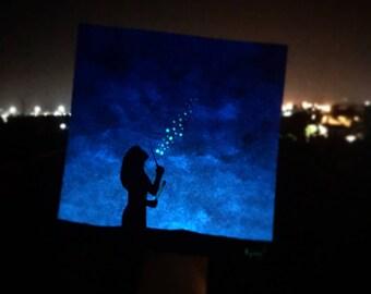 "Bubble Blu ""Glow in the dark"""